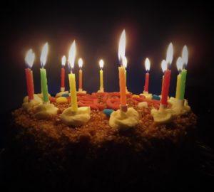 OC-Geburtstagstorte